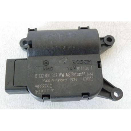 Servomoteur de volet de regulation de la temperature V 107 ref 1K1907511E / Ref Bosch 0132801343