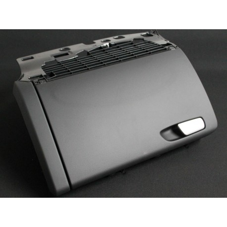Gloves box black color without barrel for Audi A4 B8 ref 8K1857035C / 8K1857104 / 8K1857104B / 8K1857104C 6PS