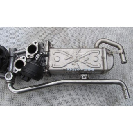 Cooler for recirculation of exhaust gas for 1L6 TDI ref 03l131512AS /  03l131512DP / 03l131512CE /  03l131512BH / 03L131512C
