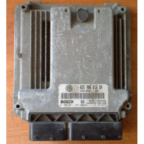Control del motor para Seat Altea / Toledo 1L9 tdi 105 cv motor BJB ref 03G906016DH / 0281011864