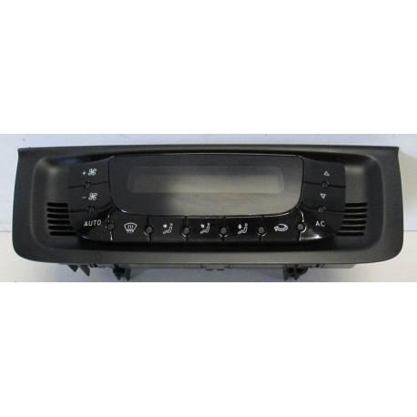 Unité de commande d'affichage pour climatiseur / Climatronic pour Seat Ibiza 6J 6J0820043C / 6J0820043D