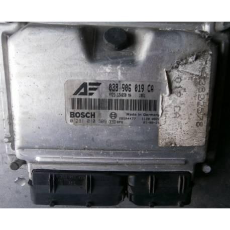 Calculateur moteur pour VW Sharan / Ford Galaxy 1L9 TDI ref 038906019CA / 0281010309