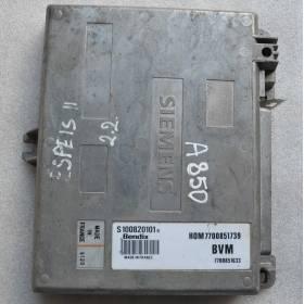 Calculateur injection moteur pour Renault Espace ref S100820101B / 7700851739 / 7700851633