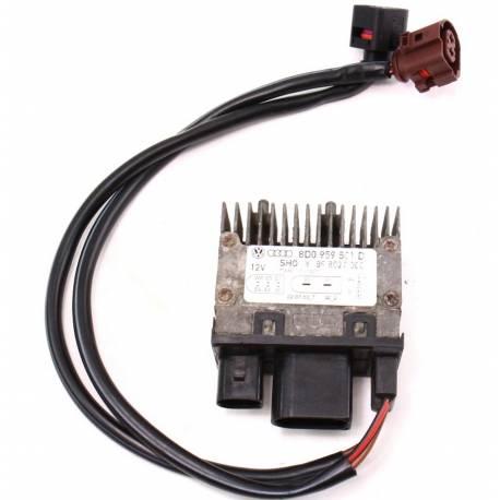 Calculateur pour ventilateur radiateur pour Audi ref 8D0959501D