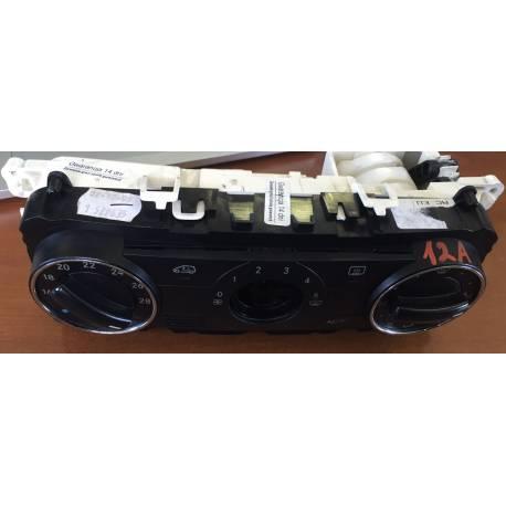 Unité de commande d'affichage pour climatiseur / Climatronic pour Mercedes A-Class W-169 ref 1698301385