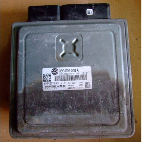 Engine control for VW Passat 2L TDI 140 cv ref 03G906018A / 5wp45502 AD / 5wp45502AD