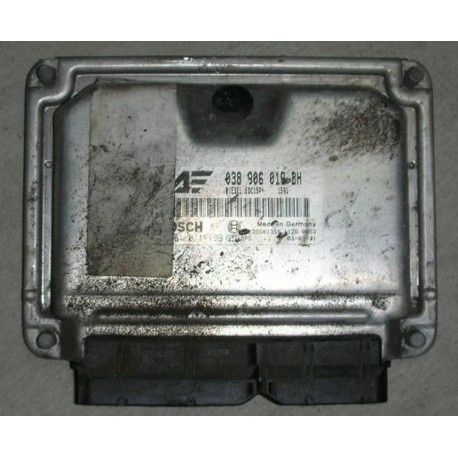Engine control / unit ecu motor for VW Sharan / Seat Alhambra 1L9 TDI 130 cv ASZ ref 038906019BH / Ref Bosch 0281011199