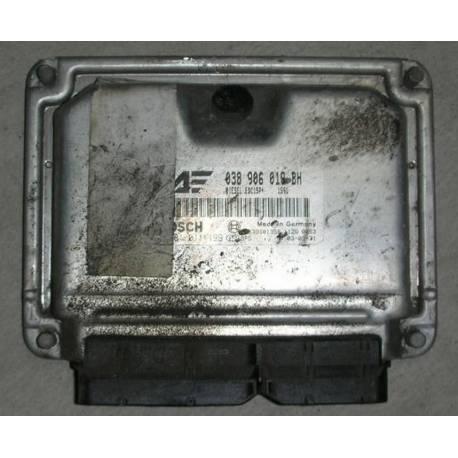 Engine control / unit ecu motor for VW Sharan / Seat Alhambra 1L9 TDI 130 cv ASZ ref 038906019BH / Ref Bosch 0281011199