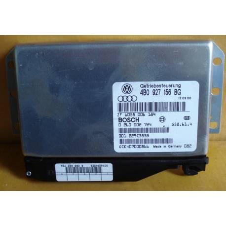Calculateur électronique pour boite de vitesses automatique Audi A6 ref 4B0927156BG / 4BO927156BG / Ref Bosch 02600027724