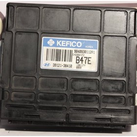 Injection engine control / unit ecu motor HYUNDAI Santa Fe SANTA FE 2.4 Kefico 39121-38410 / 9040930112A1