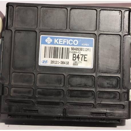 Injection engine control / unit ecu motor HYUNDAI Santa Fe SANTA FE 2.4 Kefico 39121-38410 / 9040930112A1