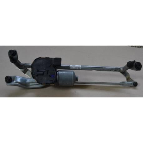 Windshield wiper bracket with wiper motor VW Golf VII ref 5G1955023C / 5G1955119A