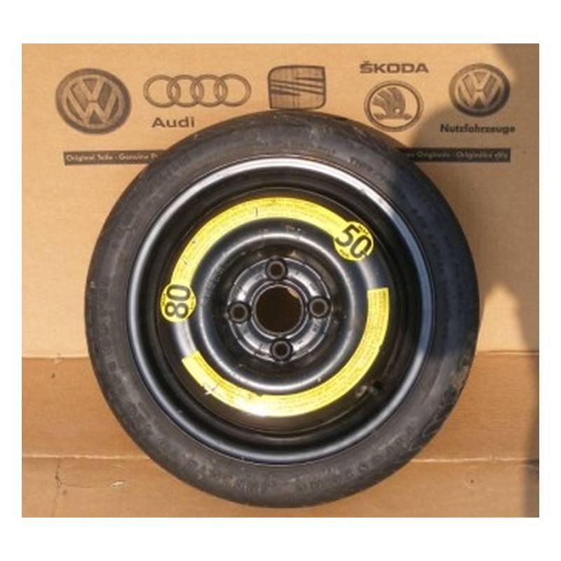 galette roue de secours de 14 4x100 pour vw golf 3 golf 4 cabrio. Black Bedroom Furniture Sets. Home Design Ideas