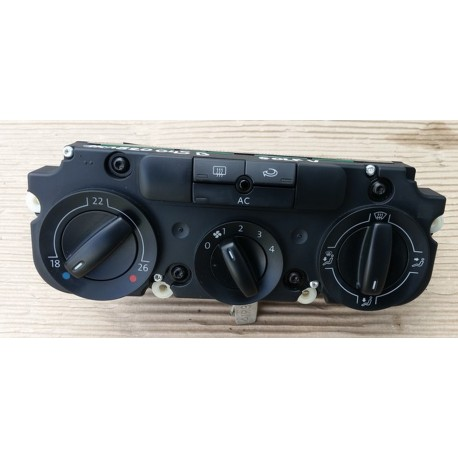 Commande de ventilation VW ref 1K0820047 / 047CB / 047DF / 047DP / 047FH / 047GK / 047FT / 1K0820047JD / 1K0820047JN