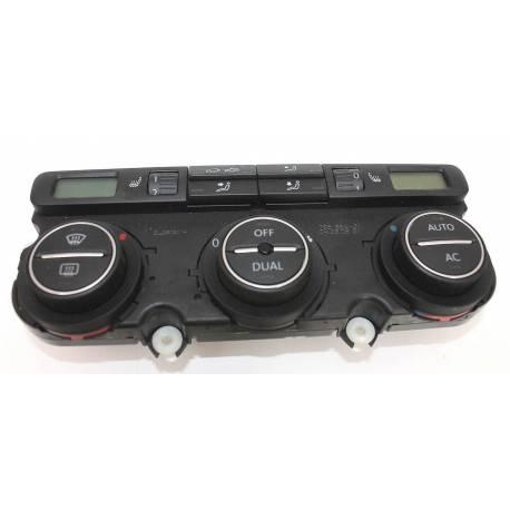 Unité de commande d'affichage pour climatiseur / Climatronic pour VW Eos ref 1Q0907044AE / 1QO907044AE