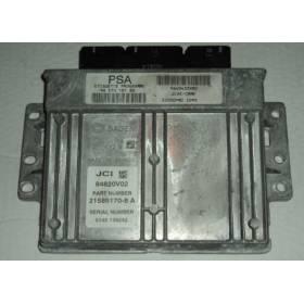 Calculateur injection ref 9649433980 / 96 570 181 80 / 84820V02