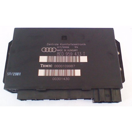 Boitier confort / Commande centralisée pour système confort ref 8E0959433T