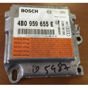Calculateur d'airbag pour Audi A6 4B ref 4B0959655E / 4B0959655TB