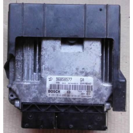 Injection engine control / unit ecu motor Chevrolet Captiva ref 0281014296