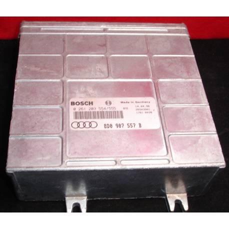 Calculateur moteur pour Audi A4 1L6 essence AEB ref 8D0907557B / 8D0907557H / 8D0907557HX / 8D0997557X / 0261203554/555