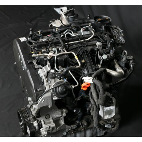 Moteur 2L TDI 136 / 140 cv CFF / CFFA / CFFB / CFGB vendu complet avec turbo / injection pour Audi / Seat / VW / Skoda