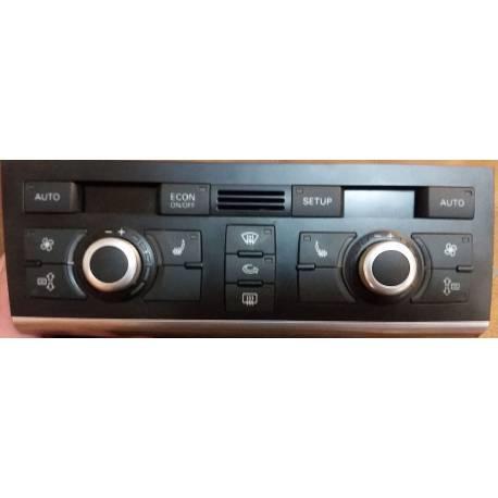 Unité de commande d'affichage pour climatiseur / Climatronic pour Audi A6 4F ref 4F1820043AC / 4F1820043AG