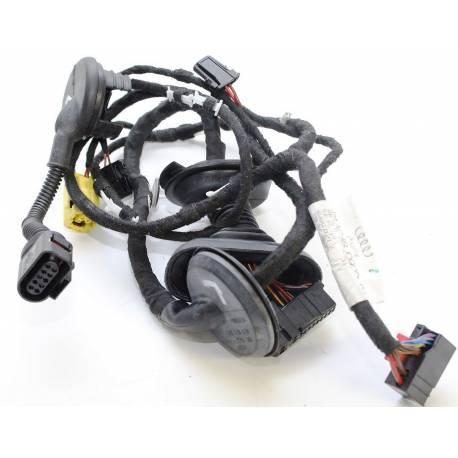 Cablage / Faisceau de cables garniture de porte avant conducteur pour Audi TT 8J ref 8J0971029K / 8J0971029L