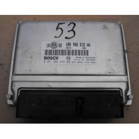 Calculateur moteur d'occasion pour Audi A4 / A6 / VW Passat 1L8 Turbo ref 4B0906018AA / Ref Bosch 0261206449