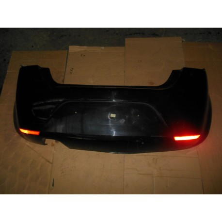 Pare-chocs arrière pour Seat Leon 2 coloris noir LC9Z ref 1P0807421 GRU