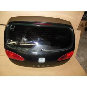 Malle arrière hayon / coffre coloris noir LC9Z pour Seat Leon II
