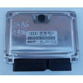 MOTOR UNIDAD DE CONTROL ECU Audi A4 B6 1L9 TDI ref 038906019LJ /  0281011222