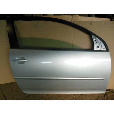 Portière avant passager pour VW Golf 5 modèle 3 portes coloris gris titane / United grey code peinture LA7T