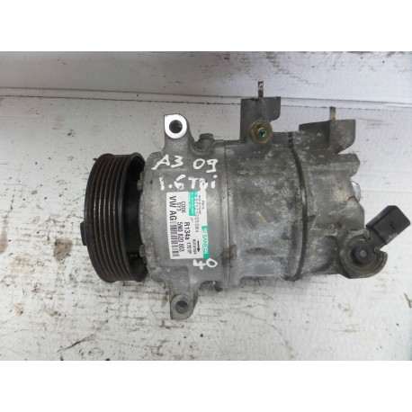 Compresseur de clim Audi / Seat / VW / Skoda ref 5N0820803 / 5N0820803A / 5N0820803C / 5N0820803E / 5N0820803F / 5N0820803H