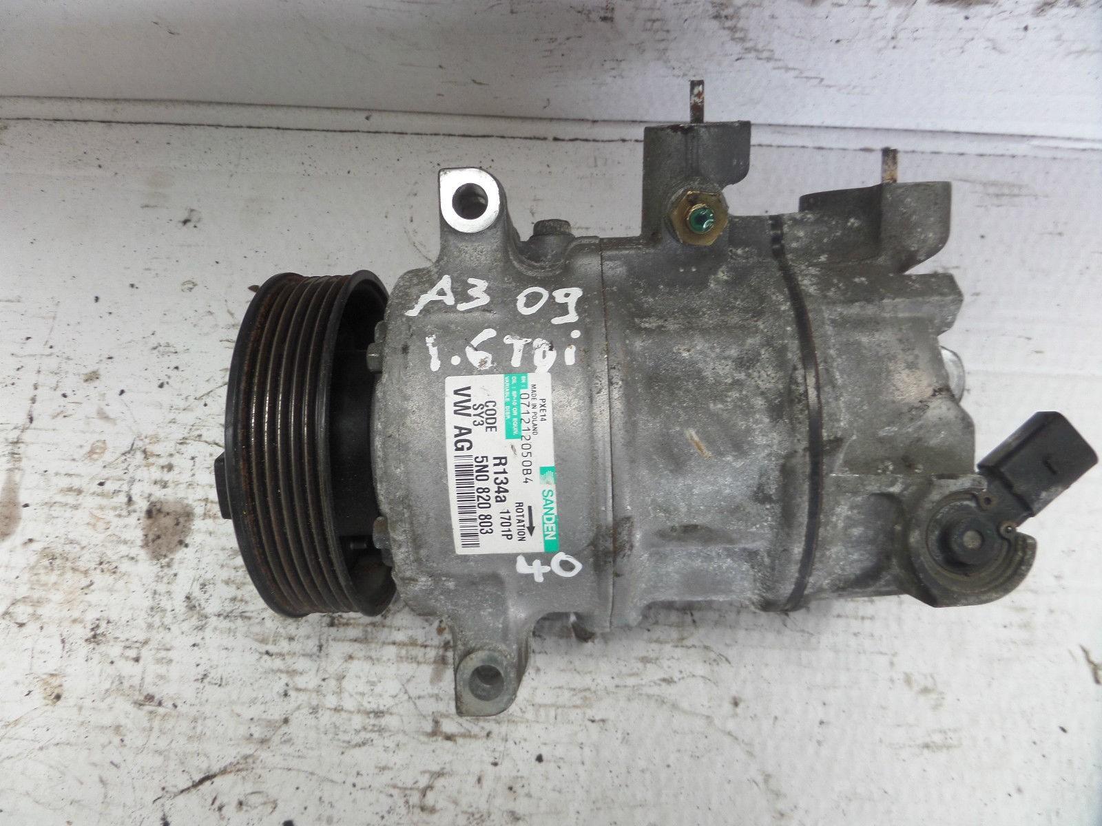 Compressor Of Air Conditioning Audi Seat Vw Kompressor Golf Valeo Skoda Ref 5n0820803 5n0820803a 5n0820803c 5n0820803e Sale Auto Spare Part On