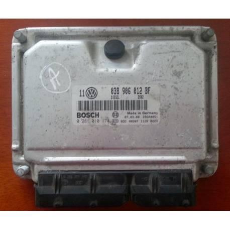 Ecu engine VW Golf 4 1L9 SDI ref 038906012BF / 0281010174