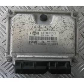 Calculateur moteur pour VW Golf 4 / Bora 1L9 SDI AQM ref 038906012ES / 0281010644