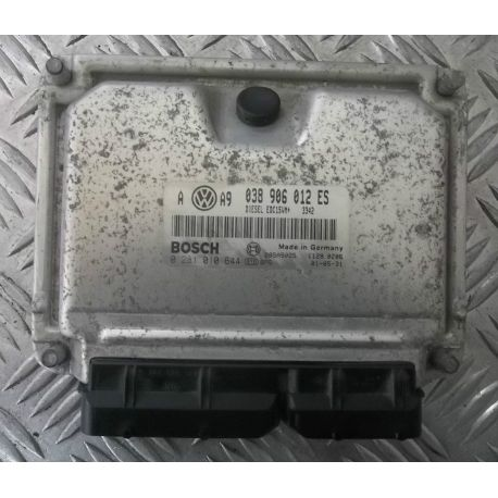 Ecu engine for VW Golf 4 / Bora 1L9 SDI AQM  ref  038906012ES / 0281010644