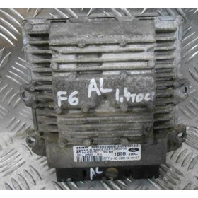 Injection engine control / unit ecu motor Ford Fiesta 1L4 TDCI ref 2S6A-12A650-BG / 5WS40027G-T