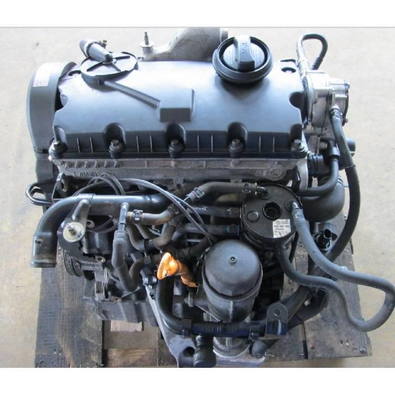 moteur 1l9 tdi 130 cv type awx pour vw passat    skoda