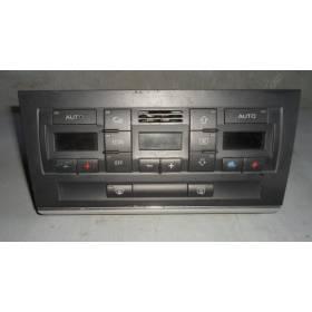 Climatronic / Commande de chauffage et ventilation pour Audi A4 B6 ref 8E0820043 / 8E0820043H / 8E0820043AA