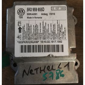 Calculateur airbag pour VW Golf / Skoda Yeti ref 5K0959655 / 5K0959655D / 5C0959655B