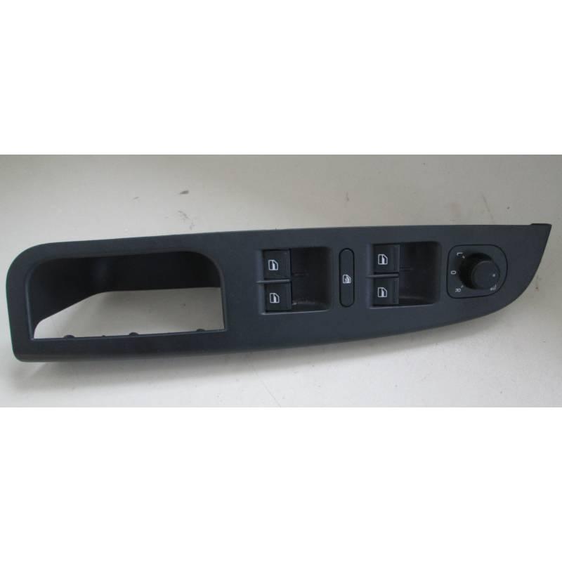 Poignée intérieure 5 portes plastique noir pour vw golf 5, jetta ...