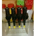 4 injecteurs pompe 1L9 TDI 115 cv AUY ref 038130073AC / 038130073AK /  0414720038 / 0414720029