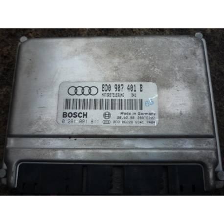 Engine control for Audi A4 2L5 V6 TDI ref 8D0907401B / Ref Bosch 0281001811
