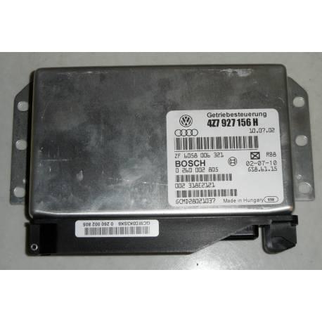 Calculateur électronique pour boite de vitesses automatique Audi A6 Allroad ref 4Z7927156H / Référence Bosch 0260002805