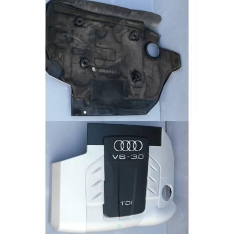 Cache-moteur pour tubulure d'admission pour Audi Q7 ref 4L0103925 / 4L0103925B