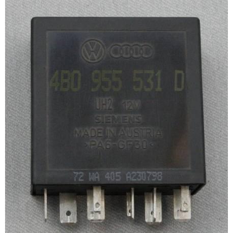 Relay / Control unit for wiper / washing automatic intervals N° 602 ref 4B0955531D / 4B0955531E / 4B0955531C