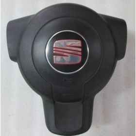 Airbag conducteur / Module de sac gonflable pour Seat Leon 2 ref 1P0880201A / 1P0880201C / 1P0880201P / 1P0880201R 1MM