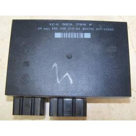 Boitier confort / Commande centralisée pour système confort pour VW / Skoda / Seat ref 1C0959799F
