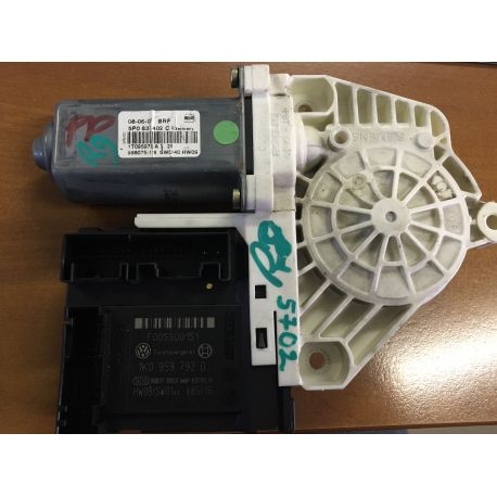 Moteur lèvre vitre pour VW / Skoda / Seat ref 5P0837402C / 1T0959701A / 1T0959701C / 1K0959792D